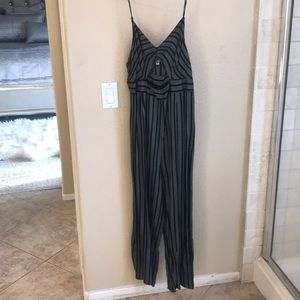 Urban outfitters romper with opening in center